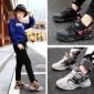 男童运动鞋2019冬季加绒二棉保暖小学生跑步鞋中大童皮面防水童鞋
