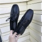 英伦风复古系带方头黑色平跟小皮鞋女2018新款韩版学生百搭乐福鞋